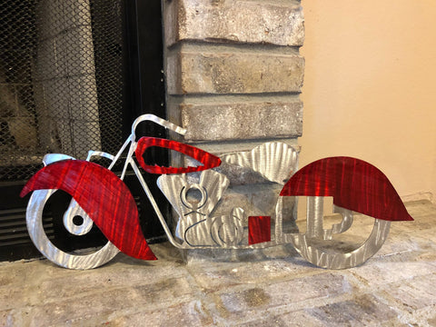 Indian Motorcycle - Metal Wall Decor
