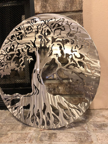 Tree Of Life Metal Art - Metal Wall Decor