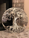 Tree Of Life Stainless Steel Edtion -  Metal Wall Decor