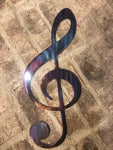 Treble Clef - Metal Wall Decor