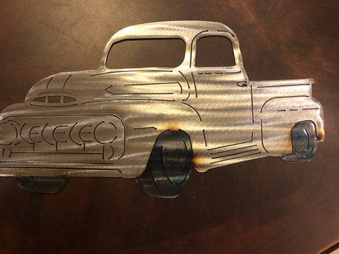 Metal Ford Truck - Metal Wall Decor