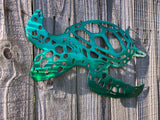 Green Sea Turtle Metal Art - Metal Wall Decor