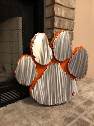 Clemson Logo - Metal Wall Decor