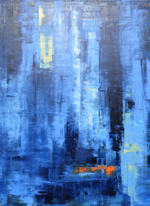 Water (#402) 36 x 48""