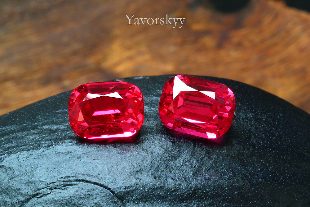 Jedi Spinel from Mansin Mogok Burma