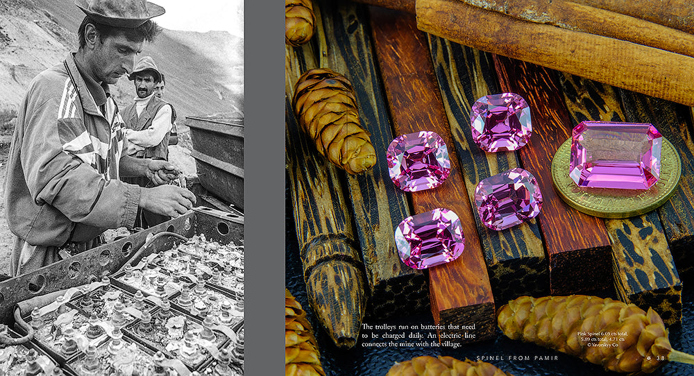 Spinel from Pamir