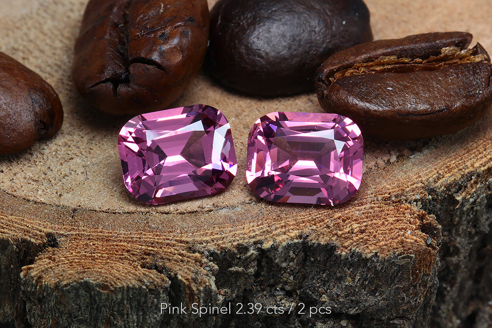 Pink Spinel 2.39 cts / 2 pcs