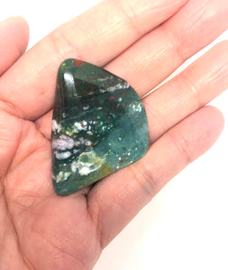 Jasper, Bloodstone from India 12g Almost 2in FREE SHIPPING