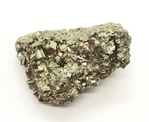 Pyrite Crystal Cluster from Peru 90g Approximately 2in.