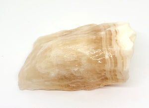 Yellow Calcite from Mexico 15ozs approximately 4in FREE SHIPPING