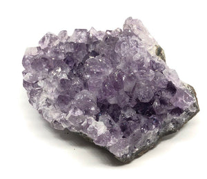 Amethyst Crystal Geode from Uruguay 214g Approximately 3in FREE SHIPPING