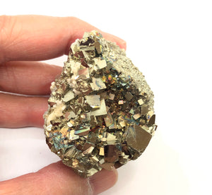 Pyrite, Barite, & Quartz from Peru 102g approximately 1 1/2in. FREE SHIPPING