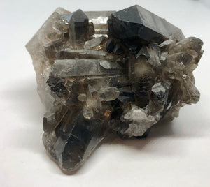 Smoky Quartz Crystal Cluster 273g FREE SHIPPING - Higher Vibe Crystals