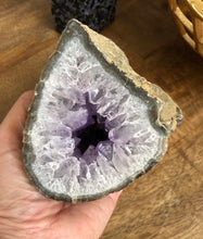 Load image into Gallery viewer, Amethyst Crystal Geode from Uruguay 1.9lbs FREE SHIPPING