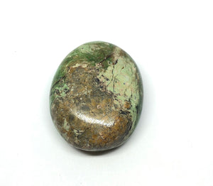 Chrysoprase Palm Stone from Madagascar 74g FREE SHIPPING