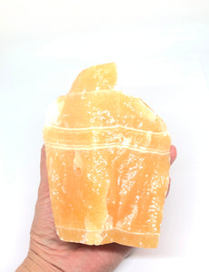 Yellow Calcite (Mexico) 2.12lbs approximately 5 1/2in FREE SHIPPING