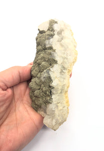 Calcite & Pyrite Specimen from Morocco 309g approximately 5in. FREE SHIPPING