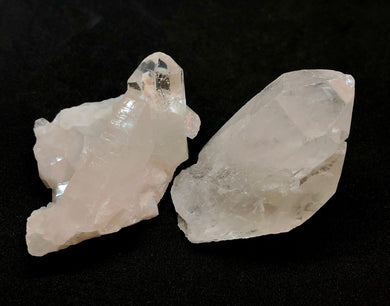2 Quartz Crystal Clusters, 127g, FREE SHIPPING - Higher Vibe Crystals