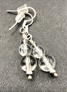 Quartz Crystal Earrings FREE SHIPPING - Higher Vibe Crystals