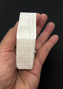 Selenite Slab from Morocco 162g approximately 3in FREE SHIPPING