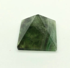 Fluorite Pyramid 27g over 1 inch FREE SHIPPING