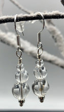 Load image into Gallery viewer, Quartz Crystal Earrings FREE SHIPPING - Higher Vibe Crystals