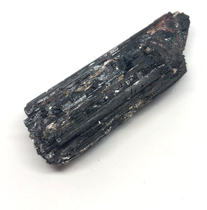 Black Tourmaline rough crystal with Mica from Brazil 89g 3in - Higher Vibe Crystals