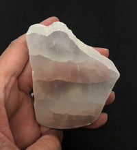 Load image into Gallery viewer, Selenite Slab from Morocco 162g approximately 3in FREE SHIPPING
