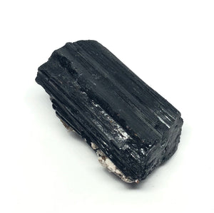 Black Tourmaline Rough Crystal from Brazil 92g 2in - Higher Vibe Crystals