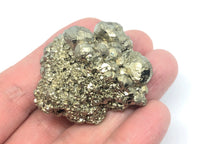 Load image into Gallery viewer, Pyrite Crystal Cluster from Peru 55g approximately 1 1/2in. FREE SHIPPING