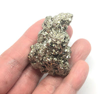 Load image into Gallery viewer, Pyrite, Emotional Well Being,Positive Energy, 67g 1 1/2in Peru FREE SHIPPing - Higher Vibe Crystals