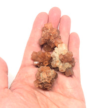 Load image into Gallery viewer, Aragonite Crystal Clusters from Morocco (4pcs) 55g total 1in FREE SHIPPING - Higher Vibe Crystals