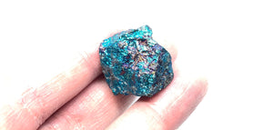 Chalcopyrite from Mexico 6pcs 83g Total FREE SHIPPING - Higher Vibe Crystals