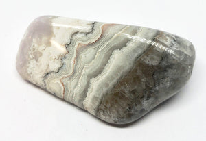 Drusy Lace Agate 35g Crystal Healing, Chakra, Aura, Reiki - Higher Vibe Crystals
