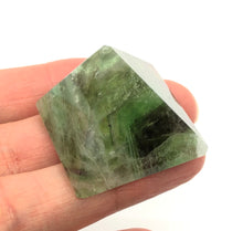 Load image into Gallery viewer, Fluorite Pyramid 27g over 1 inch FREE SHIPPING