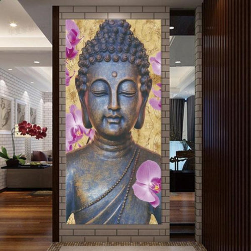 Abstract Hotoke Buddha Painting