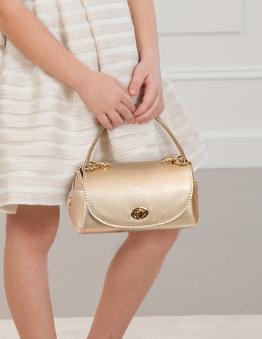 Champagne Leather Purse