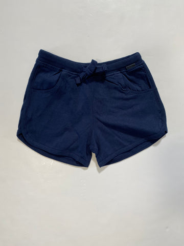 Navy Knit Shorts
