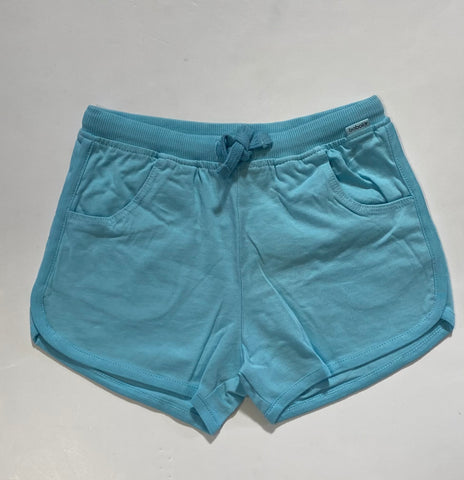 Sky Blue Knit Shorts