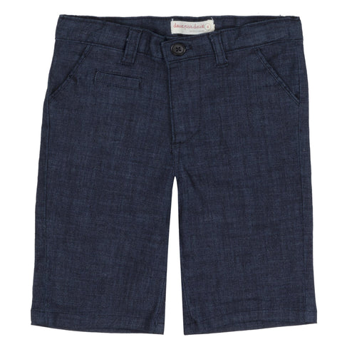 Denim Tailored Bermuda Casual