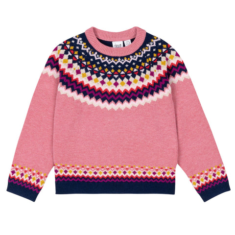 Jacquard Knitted Sweater