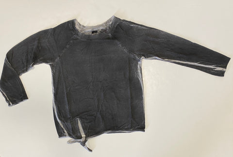 Grey Spray Wash L/S Top