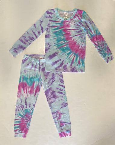 Bright Tie Dye Long Sleeve Set