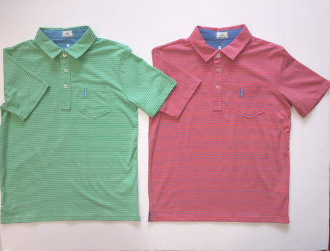 Cliffs Three Button Polo