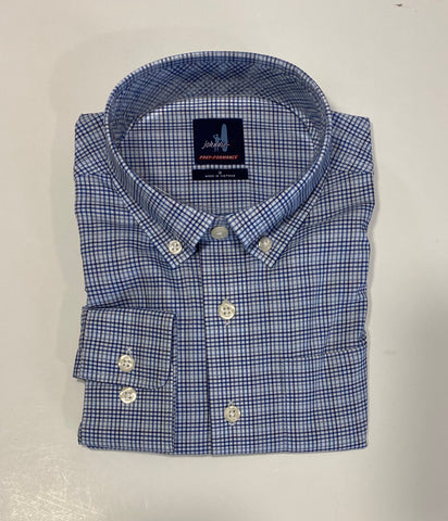 Gallagher Gulf Blue Button Down