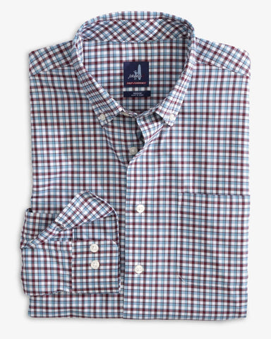 Redmond Cranberry Button Down