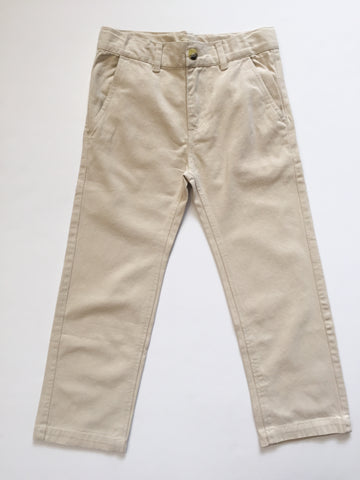 Navy & Khaki Twill Pants