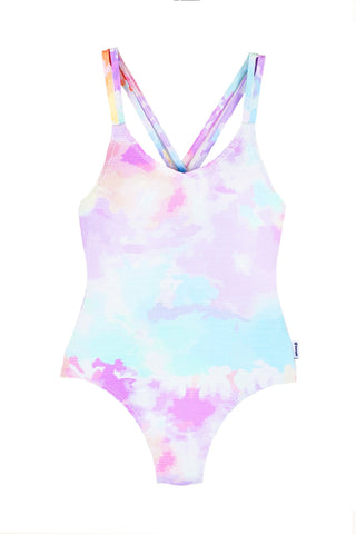Pastel Watercolor One PC Swimsuit