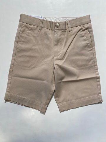 Slim Fit Cotton Shorts