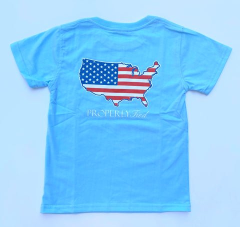 Powder Blue Old Glory